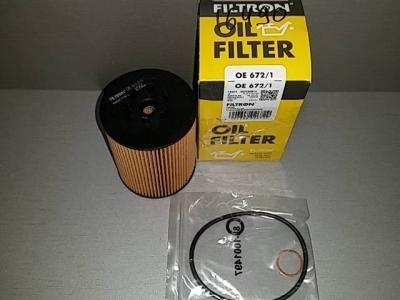 Фильтр масляный FILTRON OE672/1 BMW 11427511161