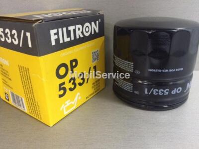 Фильтр масляный FILTRON OP533/1 F