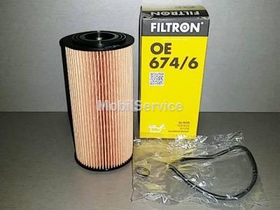 Фильтр масляный FILTRON OE674/6 HYUNDAI 263202F000