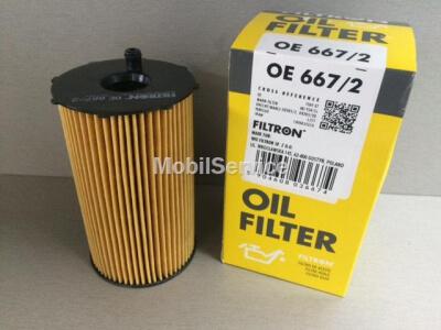 Фильтр масляный FILTRON OE667/2 LAND ROVER 1109.AW