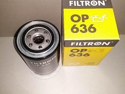 Фильтр масляный FILTRON OP636 MITSUBISHI ME013307
