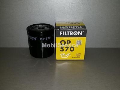 Фильтр масляный FILTRON OP570 OPEL 650381