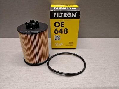 Фильтр масляный FILTRON OE648 OPEL 650307