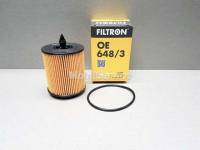 Фильтр масляный FILTRON OE648/3 OPEL 650315
