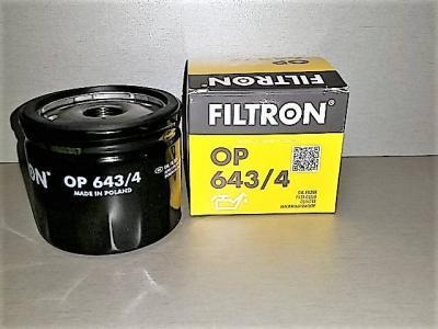 Фильтр масляный FILTRON OP643/4 RENAULT 1520800QAF