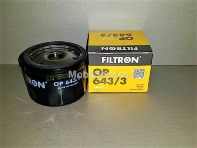 Фильтр масляный FILTRON OP643/3 RENAULT 7700107905