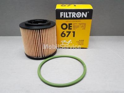 Фильтр масляный FILTRON OE671 AUDI/VW 03D198819
