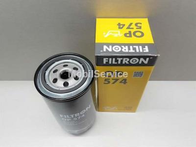 Фильтр масляный FILTRON OP574 AUDI/VW 074115561