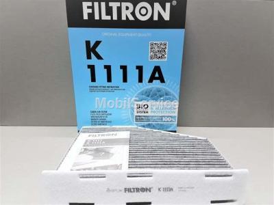 Фильтр салона FILTRON K1111A AUDI/VW 1K1819653B