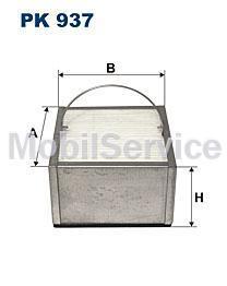 Фильтр топливный FILTRON PK937 MAN 81.12501-0021