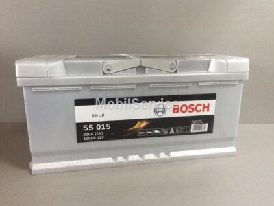 Аккумулятор BOSCH S5 015 110Ah 920A 0092S50150