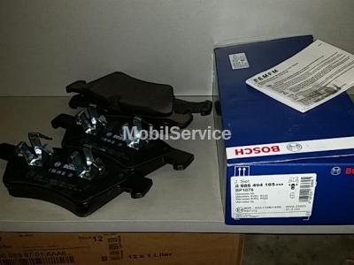 Колодки тормозные дисковые передние комплект 0986494165