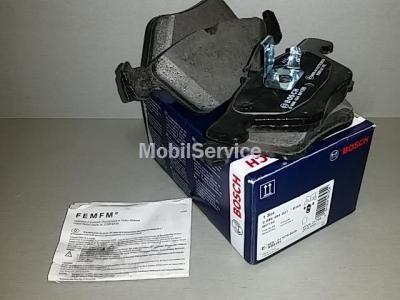 Колодки тормозные дисковые передние комплект 0986494001