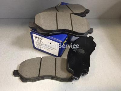 Колодки тормозные передние SP1360 Sangsin