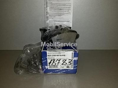 Колодки тормозные дисковые комплект 0252484818/PD