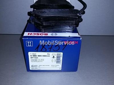 Колодки тормозные дисковые комплект 0986495094