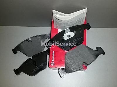Колодки тормозные дисковые передние комплект P06054