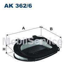 Фильтр возд.BMW X3 (F25), X5 (E70), X6 (E71) (13717811026 AK362/6)