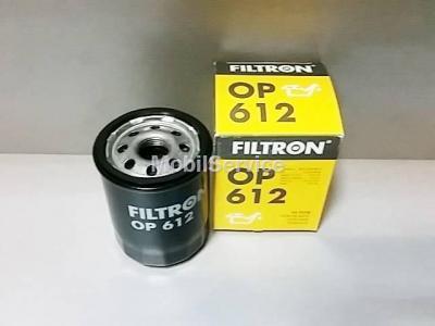 Фильтр масляный FILTRON OP612 NISSAN 15208-BX00A